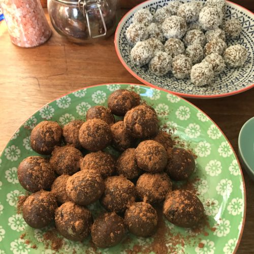 WellNow Chocolate Powerballs Recipe