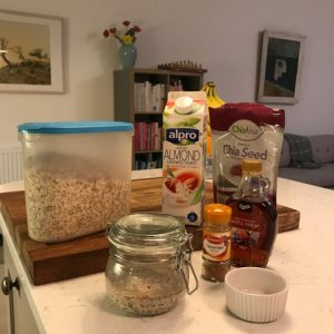 WellNow Overnight Oats Ingredients