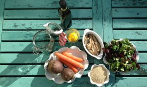 WellNow Stripy Salad Ingredients Image