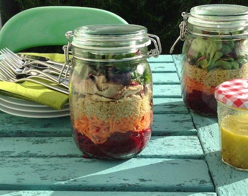 WellNow Stripy Salad Recipe