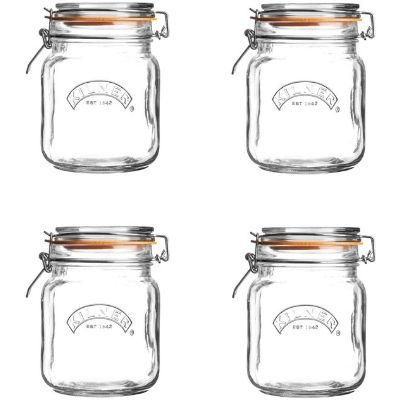 The WellNow Shop Glass Preserving Jars