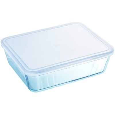 The WellNow Co Shop Pyrex Cook and Freeze rectangular dish with lid