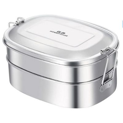 The WellNow Co Shop GA Homefavor Stainless Steel Bento Lunchbox