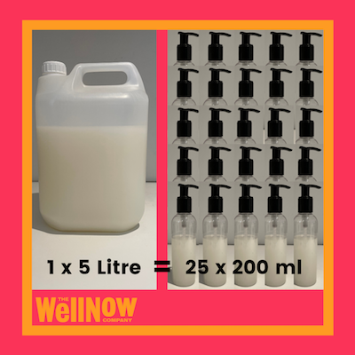 The WellNow Co Bulk Shop 5 Litre