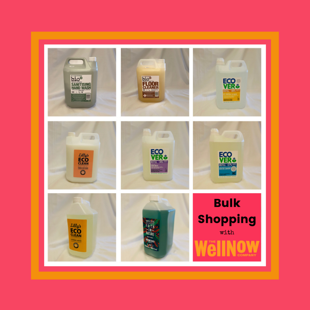 WellNow Shop Bulk and Clean Products - 5 litres